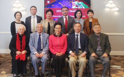 The 2019 Annual Board Meeting of Peking University Education Foundation (USA) Held in San Francisco