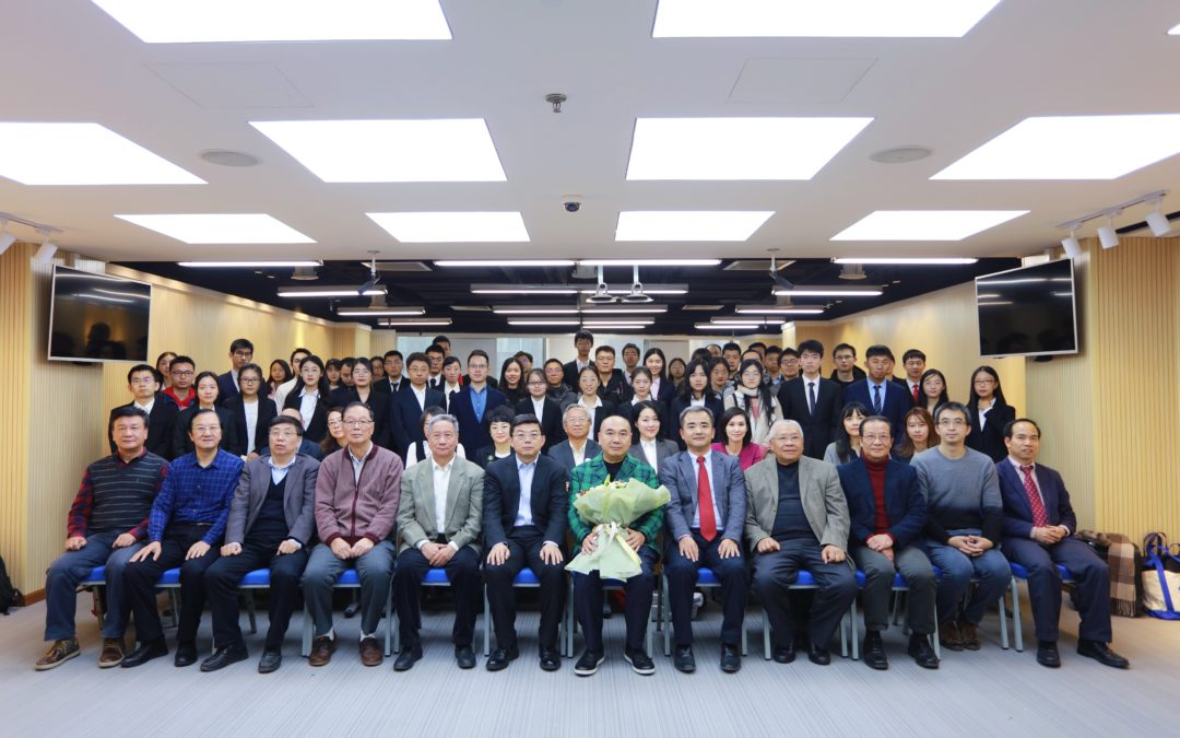 Prof. Leo KoGuan Visits Peking University and Meets with Leo KoGuan Scholarship Recipients