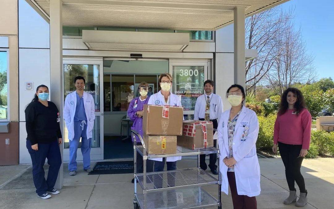 """""""与北美同心""""已捐赠PPE至23家医疗机构"""