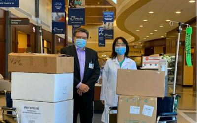 同舟共济、守望相助:北京大学教育基金会(美国) 携手各界力量 助力全球抗疫